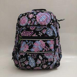 NWT Vera Bradley Campus Backpack Alpine Floral